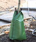 Watering bags for recently planted trees and bushes