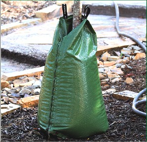 Irrigation Pouch for newly planted trees and shrubs