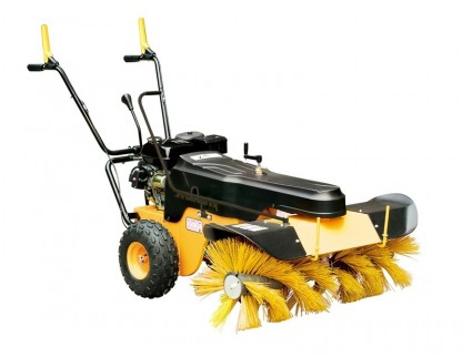 Sweeper with rotating brush, gasoline engine 6.5hp