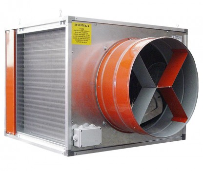 Air heat exchanger S550 60000 Kcal/69kW