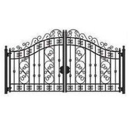 Iron gate 5x2,4m weight 220kg