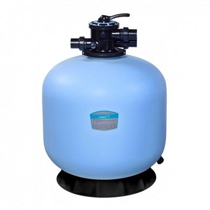 Sand filter flow rate 4.5 m³ / h multi-port valve top mounted, Ø350x750 mm