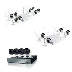 CCTV camera for indoor and outdoor use